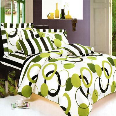 artistic green luxury 4pc mini comforter set