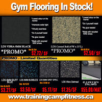 Gym Rubber Flooring for Home Gym, Facilities, and Condos