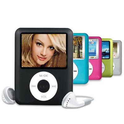 Radio Slim Player MP4 MP3 Ultra FM Lettore Video Giochi+Cuffia+USB Cavo! sk