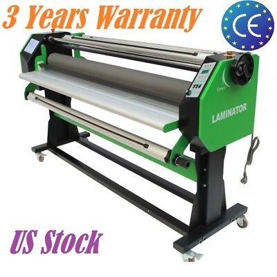 67 Stand Frame Full-auto Single Side Wide Format Hot Cold Laminator 1630mm