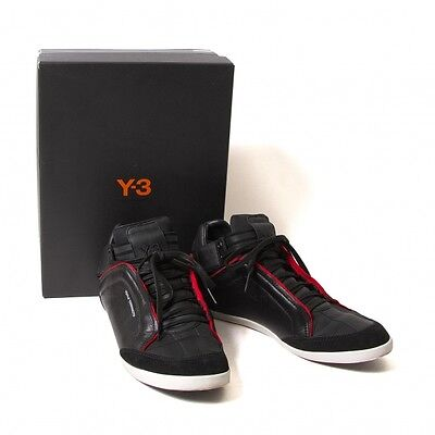 Y-3 KAZUHIRI Leather Sneaker Size US 7.5(K-48424)