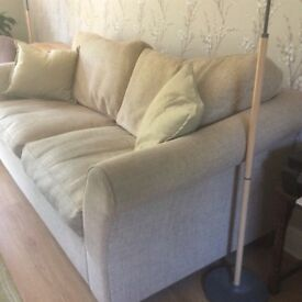 Large cream sofa made by M&S £65