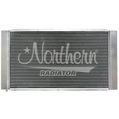 Custom Radiator Kit All Aluminum   31 x 16 x 4 14 Overall 3 Row