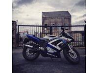 Rieju rs2 50cc geared bike