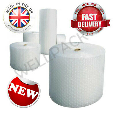 UK Large Bubble wrap Roll 25m x 1m Lightweight Best Bubble Wrap for Moving House
