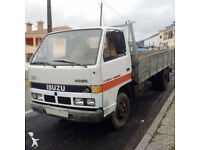 Left hand drive Isuzu NKR 575-35 3.3 diesel 6 tyres 3.5 Ton truck.