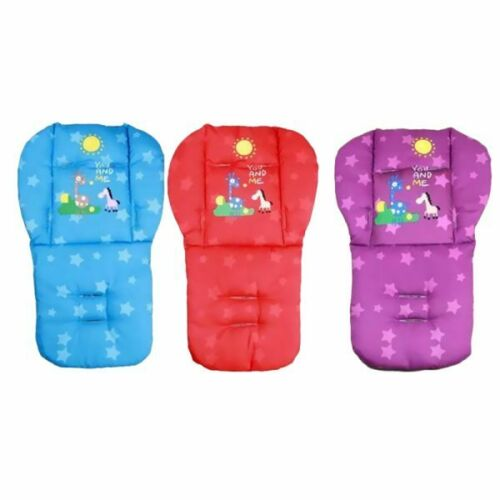 """Playpen Baby® Stroller """"You And Me"""" Print Breathable Cushion Pad"""