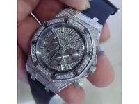 RM mille Cartier audemars piguet franck Muller automatic skeleton Rolex diamond transparent hublot