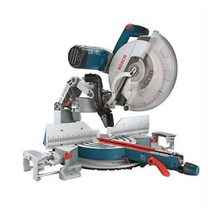 Bosch 12'' Dual-Bevel Glide Compound Mitre Saw with laser washer