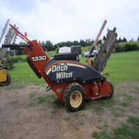 Walk behind Ditch Witch for hire