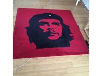 Che Guevara icon rug