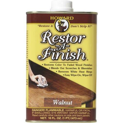 3 pk Howard Products WALNUT RESTOR-A-FINISH RF4016