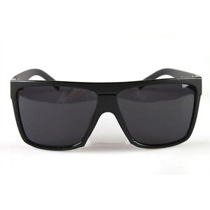 Fashion-Retro-Vintage-Oversized-Black-Lady-Gaga-Wayfarer-Sunglasses-Shades