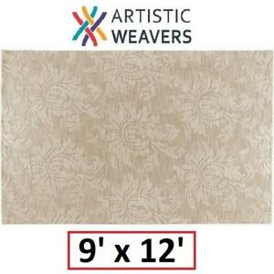 NEW AW SOFIA BIEGE AREA RUG 9x12FT SOP7004-912 154024033 RUGS CARPET FLOORING DECOR ACCENTS MATS PADS Artistic Weavers