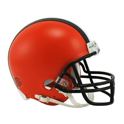 NFL Cleveland Browns Mini Helm VSR4 Riddell Football Helmet OVP Footballhelm