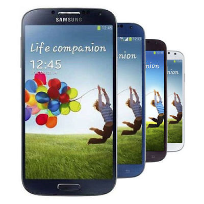 Samsung Galaxy S4 16GB 4G LTE Sprint T-Mobile AT&T Verizon GSM Unlocked