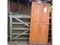 9 solid wood internal house doors due to cottage refurbishment