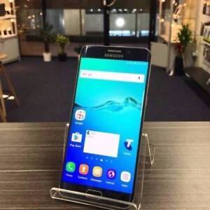 AS NEW SAMSUNG S6 EDGE PLUS 32GB BLACK UNLOCKED WARRANTY INVOICE Pacific Pines Gold Coast City Preview