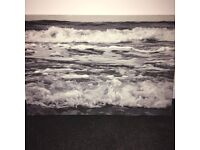 Water Sea Waves Canvas