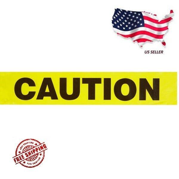 "CAUTION Tape - 3"" X 100' Barricade, Construction, Tool Essentials, Yellow"