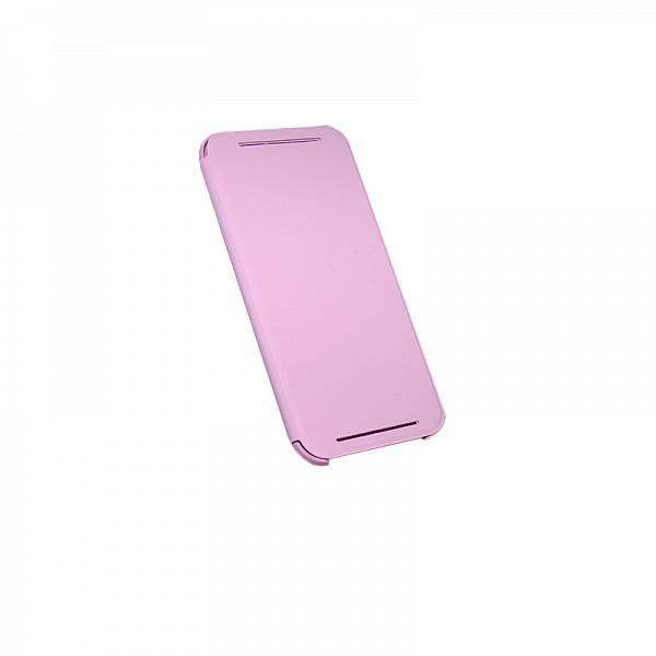 HTC Original HC V941 Flip Case for HTC One M8 Pink - RETAIL PACKED