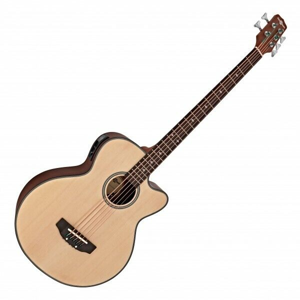 Electro Acoustic 5 String Bass Guitar by Gear4music