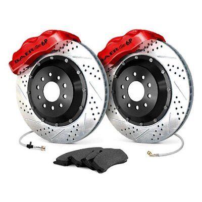 For Dodge Charger 06-17 Baer Pro Plus Drilled & Slotted Rear Brake System