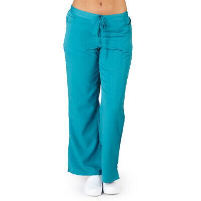 - Ultrasoft Junior Fit Drawstring Elastic Waist Nursing Uniform Bottom Scrub Pants