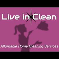 $30/HR FOR A DETAILED HOME CLEANING