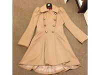 Next military camel coat