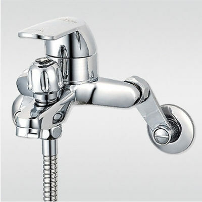 Wall mounted Bath tub faucet chrome finish with handheld shower head set B-1