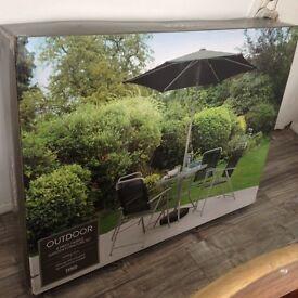 Brand new garden furniture