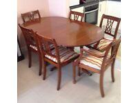 Elegant antique style furniture set