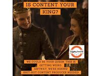 💪 Content king for fast-growing digital agency wanted 💪