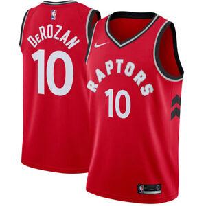 Men's Toronto Raptors DeMar DeRozan Nike Red Swingman Jersey