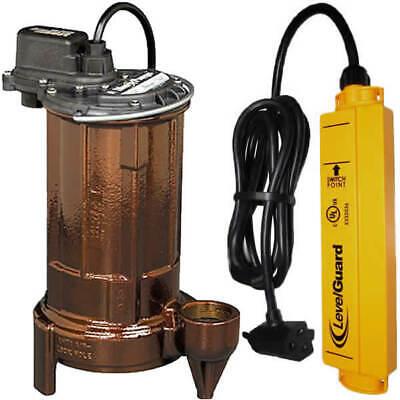 Liberty Pumps 280 - 12 Hp Cast Iron Submersible Sump Pump W Levelguardreg...