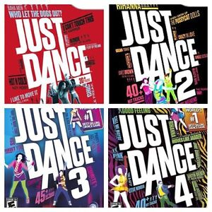 "WANTED: Wii ""JUST DANCE"" games"