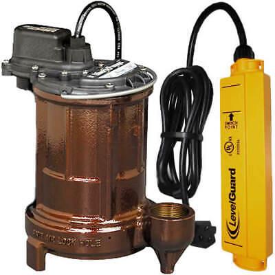 Liberty Pumps 250 - 1/3 HP Cast Iron Submersible Sump Pump w