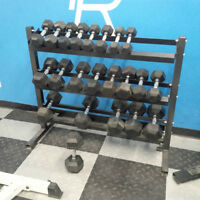 Free Weights/Rack *Great Condition*