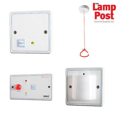 Robus RDPTA-01 - Vulnerable Persons Disabled Alarm Toilet Bathroom Alarm Kit