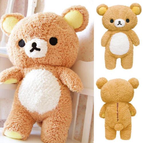 "55cm New Stuffed 21"" Kawaii Gift Rilakkuma Relax Bear Pillow Plush Toy Doll Chic"
