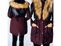 Faux Fur Winter Jacket