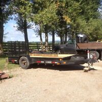 Heavy duty 6x12 trailer with ramps for sale