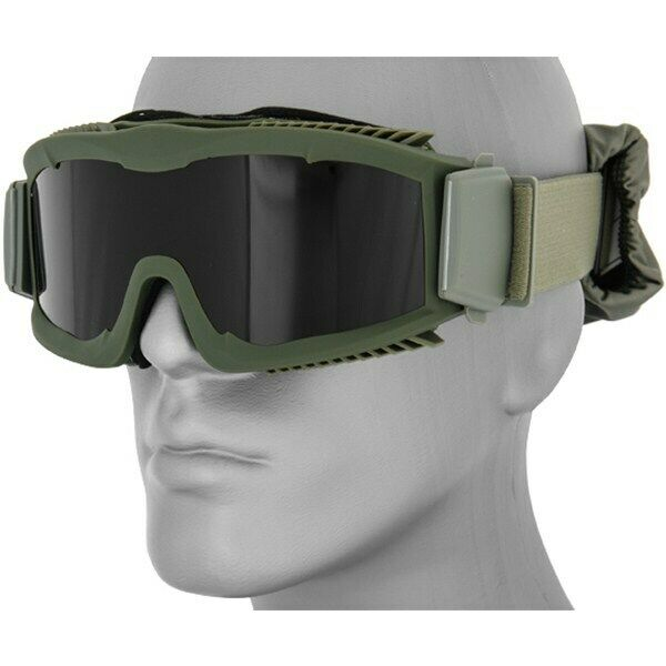 AIRSOFT LANCER TACTICAL TACTICAL VENTED SAFETY GOGGLES Eye Protection Anti Fog