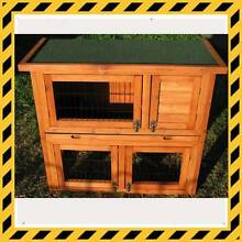 Rabbit Hutch - 2 storey wooden with pull out tray for easy clean Osborne Port Adelaide Area Preview