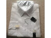 "Mens White Shirt 16"" New in packaging"