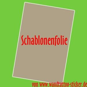 5x schablonenfolie din a4 wandtattoo schablone selber. Black Bedroom Furniture Sets. Home Design Ideas