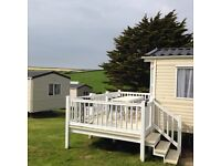 Easter Half Term 3 bed Holiday Caravan in Porth Newquay Cornwall 15th to 22nd April with Indoor Pool