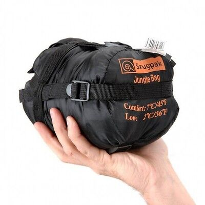 - Snugpak Travelpak Jungle Military Sleeping Bag Small Synthetic 1-2 season