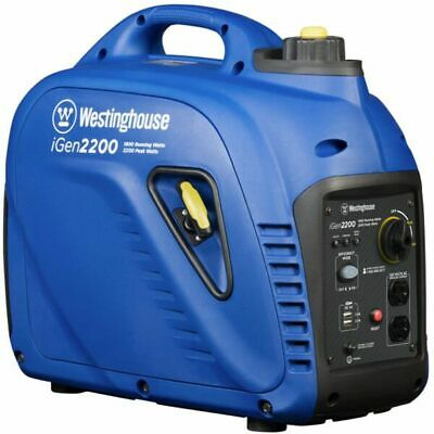 Westinghouse Igen2200 - 1800 Watt Portable Inverter Generator Carb